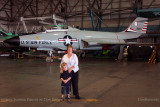 July - Kyler and Karen with a F-101B Voodoo at the Wings Over the Rockies Air & Space Museum
