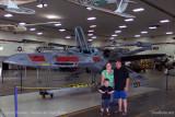 July - Kyler, Karen and Steve Kramer at the Wings Over the Rockies Air & Space Museum
