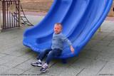 October 2010 - Kyler enjoying the playground at Peterson AFB