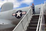 October 2010 - Kyler with Lockheed EC-121T Warning Star #AF52-3425