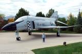 October 2010 - Kyler and McDonnell-Douglas F-4C Phantom #AF64-0799 painted as AF63-7589