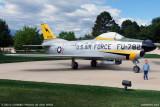 October 2010 - Kyler and North American F-86L Sabre Dog #AF53-0782