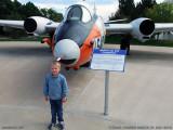 October 2010 - Kyler and Martin EB-57E Canberra #AF55-4279