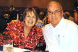 May 2010 - Karen and Don Boyd at dinner for the Florida state PEO convention at Lake Buena Vista