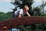 August 2010 - Kyler at Palmer Park playground