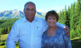 August 2010 - Don and Karen at the Crested Butte Mountain Resort for a wedding