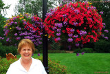 August 2010 - Karen on the beautiful grounds of the Broadmoor Hotel in Colorado Springs