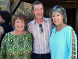 August 2010 - Brenda with my wife Karen and her son Justin the day after he was married in Crested Butte, Colorado