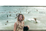 1969 - surfers at the real South Beach between the fishing pier and the Government Cut jetty