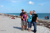 November - Creed Law, Lisa Marie Criswell Law, Donna and her fiance' John Perez at Bill Baggs State Park