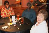 December 2010 - Cynthia Murray Thompson, her mom Mrs. Lola Barr and Karen at Shula's 2