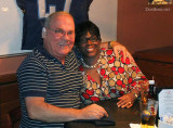 December 2010 - Don Boyd with Cynthia Murray Thompson after lunch at Shula's 2