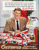 Chesterfields for Christmas, promoted by Ronald Reagan