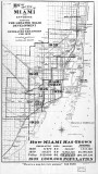 1925 - map of old Miami and surrounding environs in 1925 and projected growth by 1935