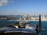 2011 - Fisher Island to the left of Government Cut, the real South Beach and downtown Miami in the background