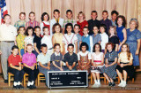 1963 - the 5th grade class at Glenn Curtiss Elementary School with teacher Mr. Maginnis and principal Miss L. Foulks