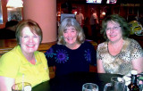 September 2012 - Karen with Brenda Reiter and Linda Grother at Shula's 2 in Miami Lakes