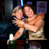 September 2012 - Brenda and Linda keeping their kidneys healthy at Bryson's Irish Pub in Virginia Gardens, Florida