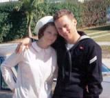 1967 - Kathy Greenwell and me
