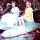 1968 - Patty Burke and Don Boyd on the paddleboat
