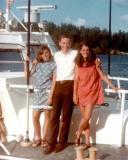 1967 - Janet Province, Don and Anita Petrogallo on CG-44371 Motor Life Boat