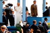 1987 - Pope John Paul II and President Ronald Reagan