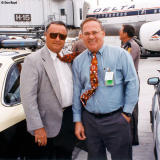 Late 90's - Florida State University Seminoles Head Coach Bobby Bowden and Don Boyd