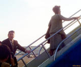 Mid 70's - Ronald and Nancy Reagan at Miami International Airport