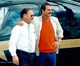 Late 80's - Don Boyd and Burt Reynolds at Miami International Airport