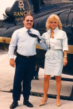 Late 80's - Don Boyd and actress Loni Anderson at Miami International Airport