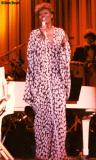 Early 90's - Singer Dionne Warwick belting them out