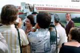 1975 - Mrs. Jehan Sadat, wife of Egyptian President Anwar Sadat, at Miami International Airport