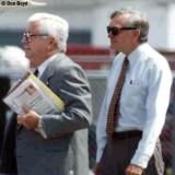 Florida Governor Lawton Chiles (right)