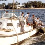1967 - BM3 Alfred Hill, SN Mike Doller, SN Bruce, CS2 Pattison, EN3 Smith, SN Dennis Stuver at USCG Station Lake Worth Inlet