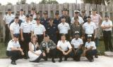 1985 - CWO4 George Kenyon's retirement after 40+ years service - at USCG Reserve Unit Air Station Miami