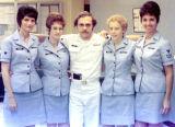 1974 - SK3 Donnis Beauchamp, YN2 Karen Fraser, YN1 Don Boyd, YN3 Della Hollinger and YN2 Kay Rodriguez, USCGR
