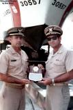 Mid 1970's - LCDR Walter Livingstone and CDR Tom Vellanti, USCGR