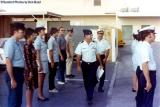 Mid 70's - LCDR Walter Livingstone and LT Al Picone inspecting the troops on drill weekend