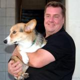 2006 - CDR Fred Remen with Cowboy, DC2 Hank Hartman's Pembroke Welsh Corgi #9329