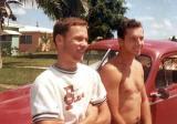 1966 - Don and Bob Zimmerman after week-long road trip