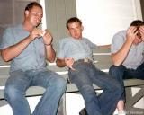 1967 - BM1 Bill Abney, EN2 Don Ratliff and EN3 Jim Wise at CG Station Lake Worth Inlet, Peanut Island