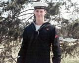 1967 - FA Dennis (Mike) Treston, USCG, modeling the new Coast Guard hat