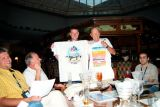 2006 - Skyone party trivia contest winners at Airliners International 2006