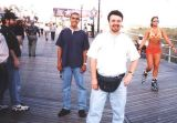 1999 - Mike McLaughlin, Carlos Borda and Kevin Cook on Atlantic City boardwalk