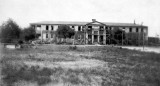 1935 - the boys dormitory under construction at the Kendall Home for Children (aka Dade County Children's Home)