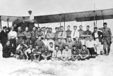 1917 - Group of pilot trainees at Glenn Curtiss Flying School