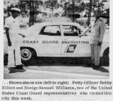 1970 - SD1 Bobby Elliott and ENS Sam Williams in Sarasota