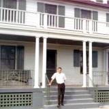 1967 - Don at the station house at Coast Guard Station Lake Worth Inlet