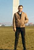1967 - Don at the Washington Monument