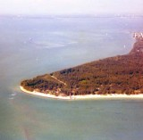 1970 - Cape Florida and the lighthouse